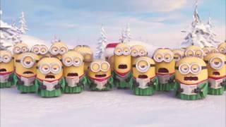 Minions Jingle Bells | Christmas Song for Children( with subtitles ) | Миньоны поют Новогоднюю песню