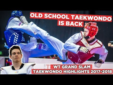 Aaron COOK Best Taekwondo Highlights 2017-2018 | Wuxi 2017 World Taekwondo Grand slam Champions