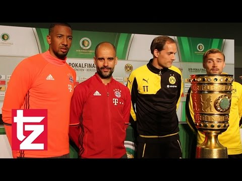 FC Bayern vor dem Double: Pokalfinale 2016 - Bayern München vs. Borussia Dortmund