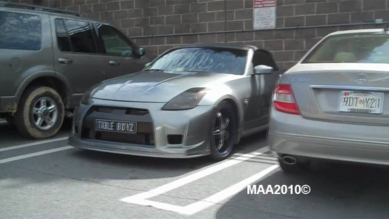 Nissan 350z With A Nissan Gtr Look To It Youtube