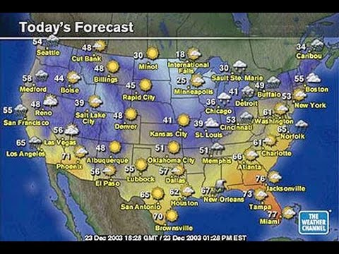 ESL: Understanding today\'s weather report from the United States ...