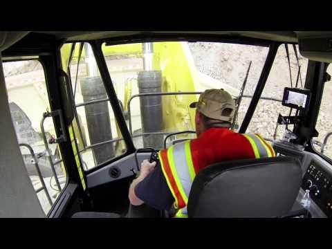 Meet the Pros: 994K Cat® Large Wheel Loader Operator Cab