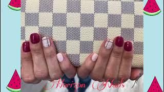 Line nail Art Design/ 라인 네일아트/…