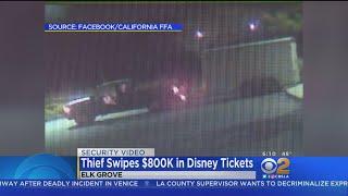 Trailer Containing $800K In Disneyland Tickets Stolen