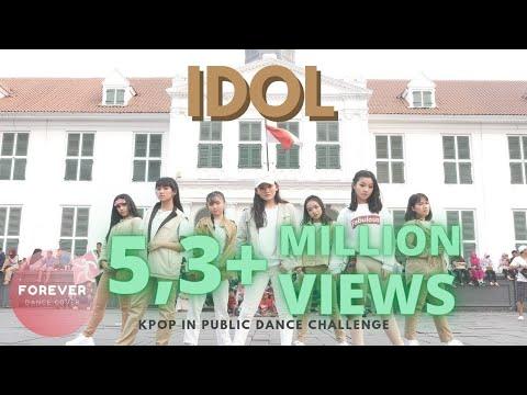 KPOP IN PUBLIC BTS IDOL DANCE COVER In PUBLIC INDONESIA