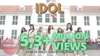 KPOP IN PUBLIC BTS IDOL DANCE COVER in PUBLIC INDONESIA
