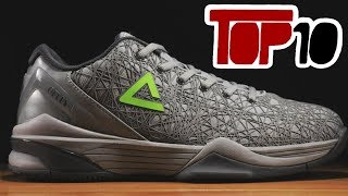 Top 10 NBA Signature Basketball Shoes Of 2018 You Didn't Know Exist