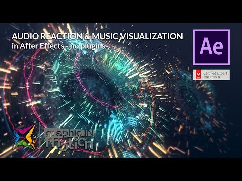 Audio Reaction & Visualization in After Effects - Tutorial - NO PLUGINS