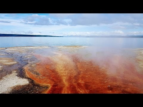 Yellowstone NP: West Thumb Geyser Basin (in 4K/UHD)