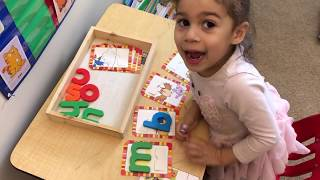 Montessori Preschool Learning Activities 10/2018