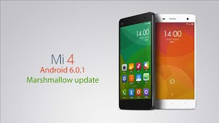 How to Update Xiaomi Mi 4 to MIUI Marshmallow android 6.0.1