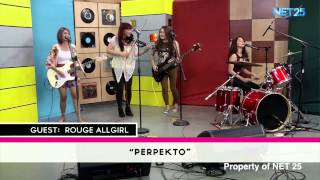 ROUGE NET25 LETTERS AND MUSIC Guesting Part 1