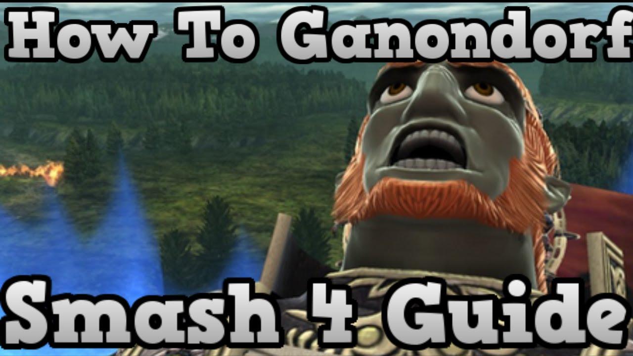 Breath of power an ssb4 ganondorf guide   smash amino.