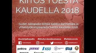 Kiitos tuesta kaudella 2018 | Sudet Jalkapallo | Kouvola