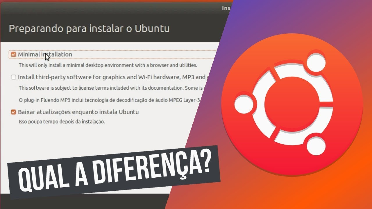 Ubuntu 1804 lts qual a diferena entre a instalao mnima e a ubuntu 1804 lts qual a diferena entre a instalao mnima e a normal stopboris Choice Image