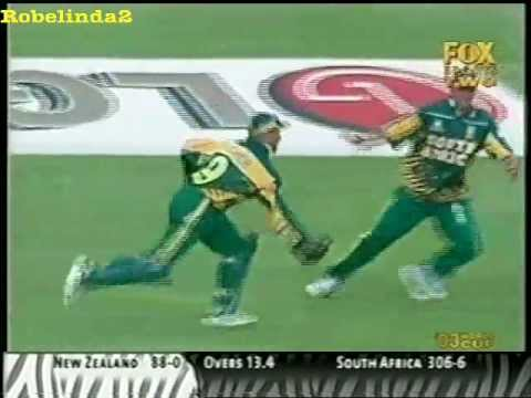 When commentators fail + classic choking by South Africa in 2003 World Cup