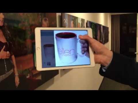 Simon Pierro on The Ellen DeGeneres Show - iPad Magic / iPad Zauberer