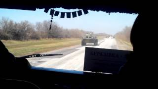 Ukrainian Convoy of BTR-80