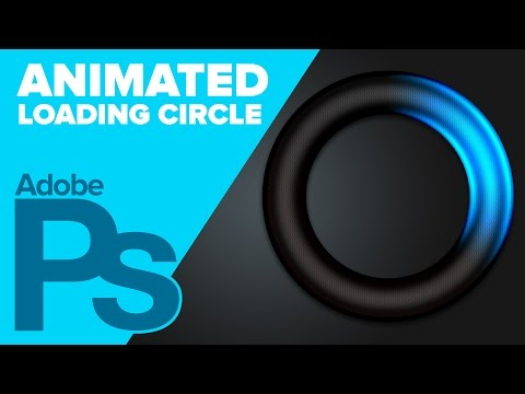 How To Create A Loading Circle Animation In Adobe Photoshop