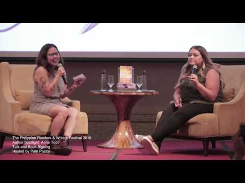 Philippine Readers and Writers Festival 2016 - Anna Todd