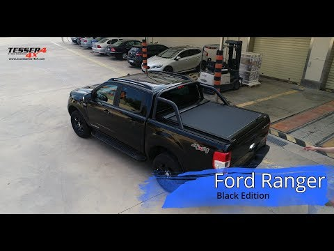 At Www Accessories 4x4 Com Ford Ranger 2018 Black Edition Roller