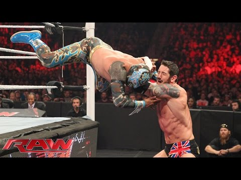 The Lucha Dragons Vs. Sheamus & King Barrett: Raw – 2. November 2015