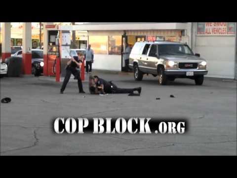 POLICE BEATDOWN: San Bernardino, CA