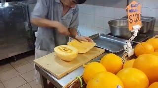 Kütür kütür meyve sebze soyan Adamlar Video
