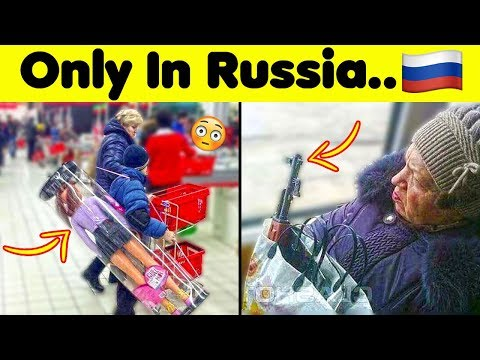 Just a Normal Day In Russia..🇷🇺
