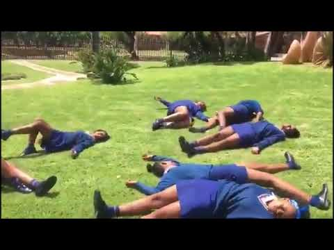 New South African Falling Dance Challenge King Monada