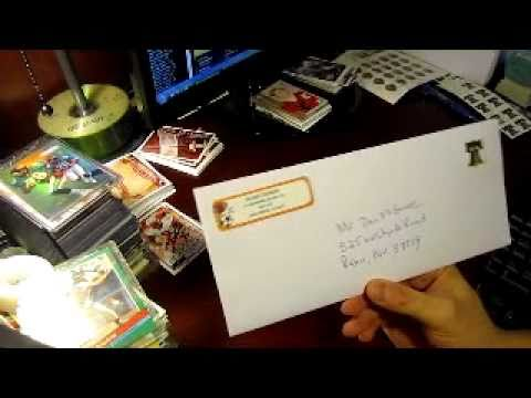 how to get through the mail ttm autographs youtube