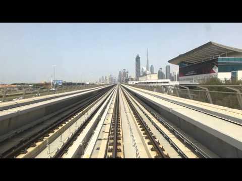 Dubai Metro Cabride to Business Bay station