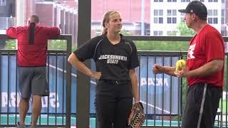Jacksonville State Softball Highlights - NCAA Tallahassee Regional Practice - May 17, 2018