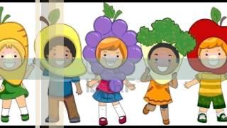 clase sobre las frutas para preescolar