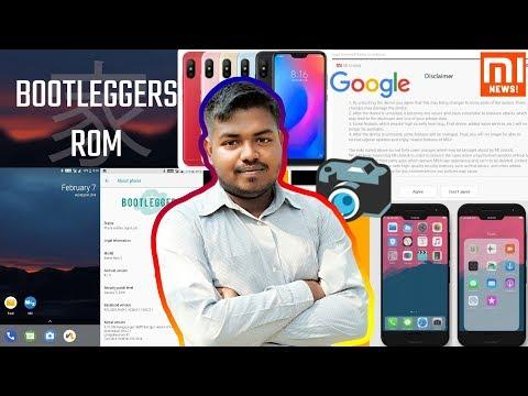 MI News:Bootleggers RN3,MI8 bypass MI account,iPhone X MIUI Theme,Gcam RN 5,Mi A2 Lite Root Toolkit - 동영상