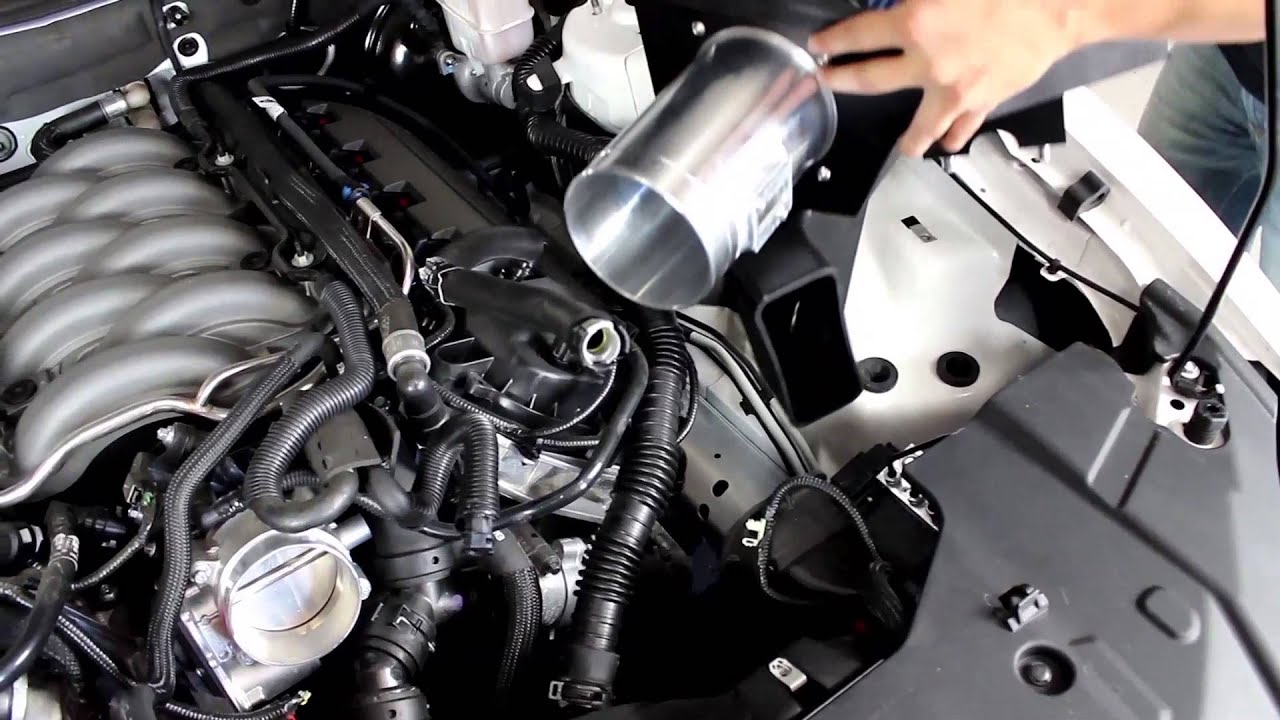 2011-2014 Mustang GT 5 0L Steeda Cold Air Intake & SCT Tuner Install