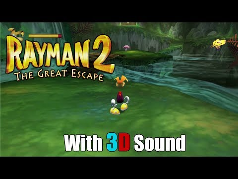 Rayman 2: The Great Escape w/ 3D spatial sound 🎧 (OpenAL Soft HRTF audio) |