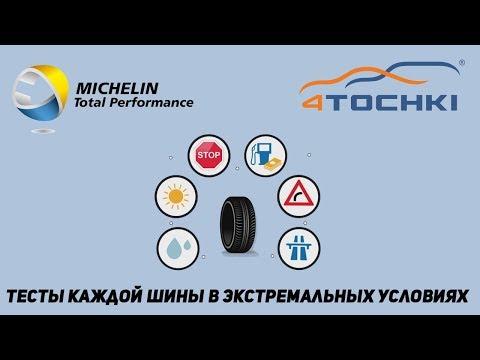 Michelin Total Performance тесты каждой шины в экстремальных условиях