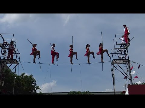 2017 The Flying Wallenda's - Circus HIgh Wire - Folklife Festival 6.29.17