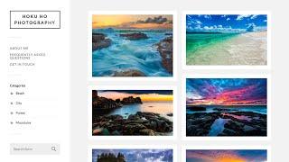 How to Make an Online Portfolio Website w/ WordPress | For Photographers, Designers, etc. by Hoku Ho