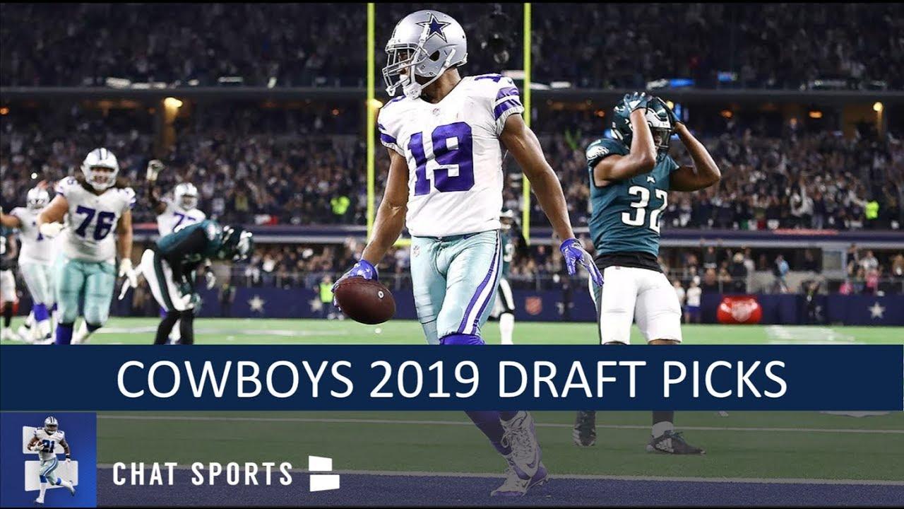 61274a6f3c1 Dallas Cowboys Draft Picks: Full 7-Round 2019 NFL Draft Order With ...