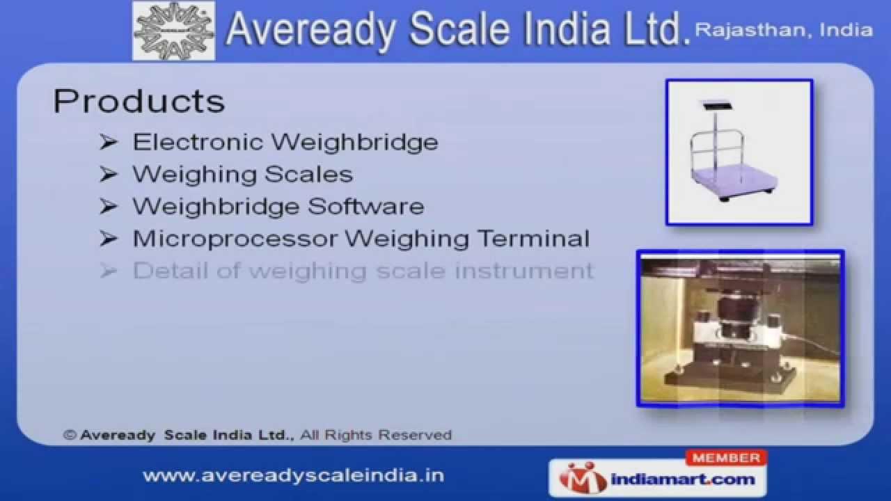 Industrial Weighbridge by Aveready Scale India Ltd  Jaipur