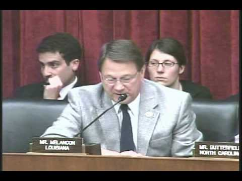 E&E Subcommittee Hearing on Oil Spill - Rep.Charlie Melancon Remarks