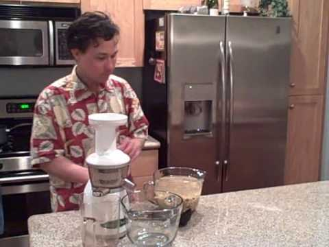 Homemade Almond Milk Slow Juicer : Hurom Premium Slow Juicer & Smoothie Maker Making Soy Milk Doovi