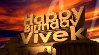 Happy Birthday Vivek