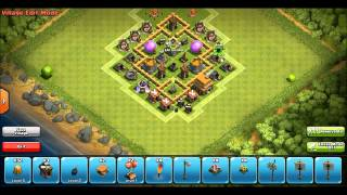Best Clash of Clans TH5 Farming Base XFactor store GOLD and ELIXIR new 2015