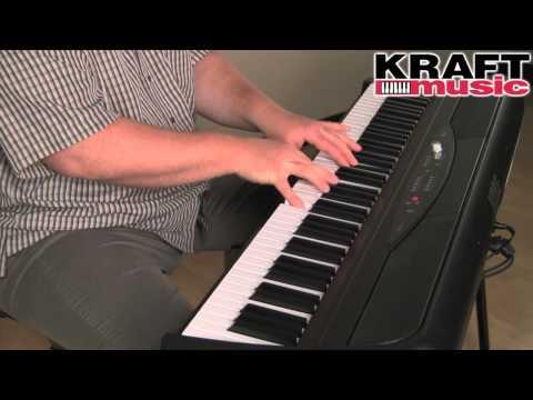 Kraft Music - Korg SP-280 Digital Piano Demo