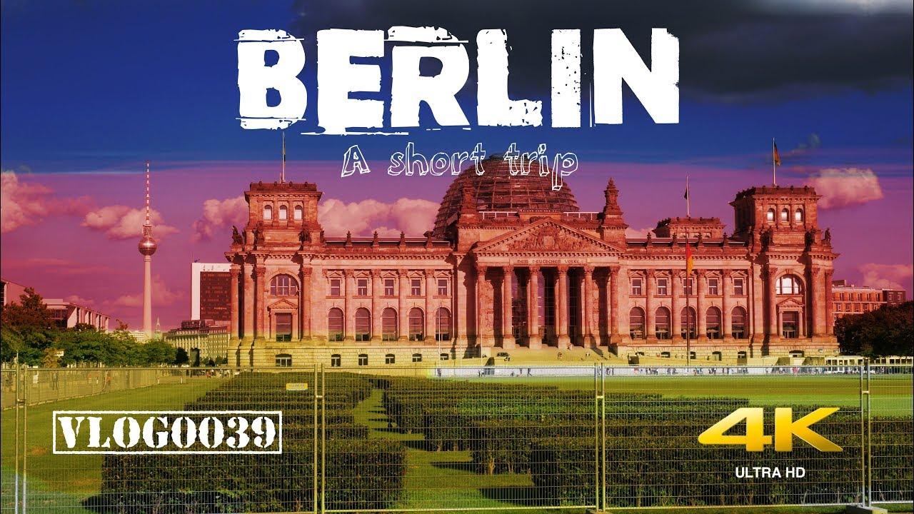 Berlin, Germany and Werder/Havel - A short trip - DEUTSCH - VLOG0039 [4K]