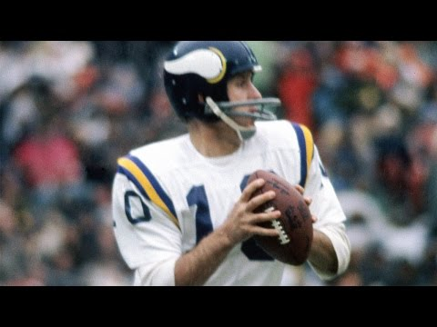 #91: Fran Tarkenton | The Top 100: NFL's Greatest Players (2010) | NFL Films