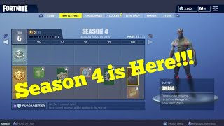 Purchasing Fortnite Season 4 Battle Pass/Ft.Bloc Boy Shoot, Orange Shirt Kid Dance Plus More!